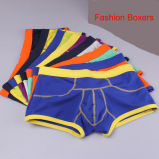 2016 New Customize Clourful Cotton/Spandex Fashion Men′s Boxers