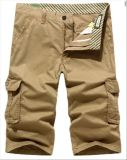 China Factory OEM Men′s Slim Cotton Casual Short Pants
