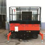 10m AC-DC Aerial Platform/Hydraulic Scissor Lift for Aerial Work