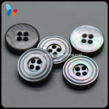 18L Small Black Mop Shell Button for Shirts