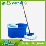 360 Hand Press Double Driver Round Dust Srotating Mop