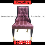 European Leather Chairs (YM-DK05)