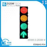 Semaforo LED Traffic Light Red Yellow Green Round Plus Green Arrow