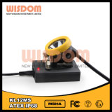 The Brightest Mining Head Lamp, Rechargeable Hat Light Wisdom Kl12ms