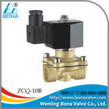"1/2"" 3/8""Brass Semi Automatic Welding Machine 24V 110V Air Magnetic Valve-Zcq-10b"