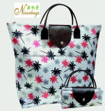 2016 Hot Selling Folding Polyester Tote Bag with Printing