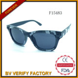 F15483 New Design Plastic Sunglasses with Cammo Color