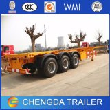 3 Axle 40ft Skeleton Container Chassis for Sale