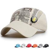 Kids Fashion Printed Microfiber Promotional Baseball Sports Sun Cap (YKY3418)