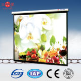 Indoor Electric Projection Screen with Tubular Motor