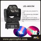 4PCS X15W RGBW 4in1 LED Moving Head Wash Light