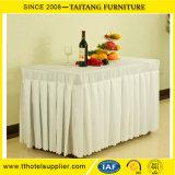 Fancy Wedding Ruffled Table Cloth Table Skirt