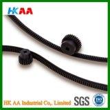 Custom Machining Ss400 Steel Black Oxide Hobbed Metal Flexible Racks