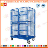 High Capacity Metal Wire Mesh Storage Warehouse Container (ZHra70)