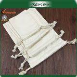 Resuable Two Sides Cotton Drawstring Bag