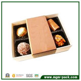 Promotional Brown Rectangle Art Paper Chocolate Packing Box