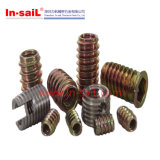 Steel Zinc Plated Threaded Insert Nuts for Furniture