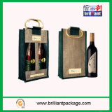 Wholesale Wine Bottle Bags with Jute Material