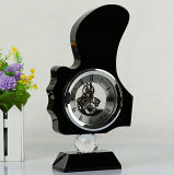Beautiful Crystal Clock for Desk Decoration