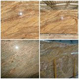 Wholesale Building Polished Indian Imperial Gold Yellow Granite Paving/Patio/Pavers Slabs