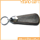 Genuine Leather Key Chain with Metal Nickel Plated (YB-LK-04)