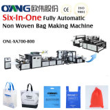 Nonwoven Bag Making Machine with Online Handle Attach