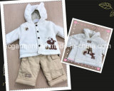 Lovely Cotton Kids Suit Children Hoodie Suit for Baby