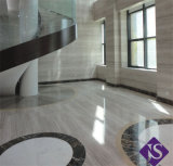 Marble Slabs Crystal Wood Vein Marble White Galaxy Marble