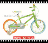 Colorful Coaster Brake Fixed Bike, Children One Speed Fixed Gear Bicycle