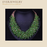 2017 Wholesale Women New Fashion Multi Colored Necklace