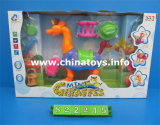 Battery Operated Mini Giraffes with Real Sound&Light System (822215)