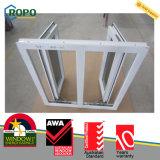 PVC/ UPVC Double Casement Window with Double Glazed