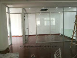 Single Clear Glass Wall Aluminium Office Partition