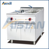 Eh885 Electric Fryer with Cabinet with 2 Tanks 2 Baskets
