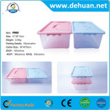 Luxury Underwear Plastic Storage Container Box with Handle for Promotion