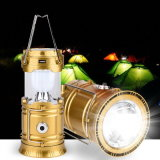 LED Solar Rechargeable Camping Lantern