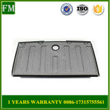 Black 3D Mesh Grille Lock Hole for Jeep Jk Wrangler