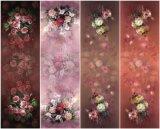 Fashion Elegant Colorful Silk Flower Printing Scarf for Ladies (C-016)