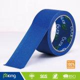 80 Degree Blue Color Crepe Paper Masking Tape for Printing