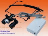 Surgical Dental Eyeglasses Loupes with Simple LED Headlight