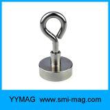Neodymium Pot Magnet Eyebolt Hook (12 lbs-361 lbs)