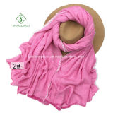 New Design Colors Rayon Shawl Lady Fashion Scarf