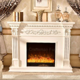Ce Approved European sculpture Living Room Furniture Electric Fireplace (328B)
