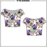 New Design Soft Comfortable Cotton Lady Women T-Shirt