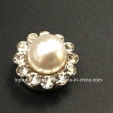 Hot Selling 14mm Crystal Rhinestone in Sewing on Pearl with Claw Setting Rhinestone (TP-14mm pearl round crystal)