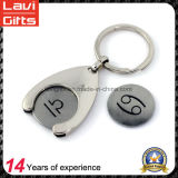 Hot Sale Customized Metal Trolley Coin Token with Coin Holder