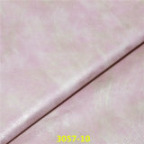 Good Color Fastness PU Coating Natural Leather for Shoe Upper