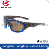 Unbreakable Custom Made Stark Square Blue Frame Sunglasses Own Brand Riding Fishing Racing Outdoor Activities Glasses