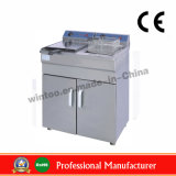 Stainless Steel Standing Electric Fryer with Temperature Controller (WEF-162V/C)