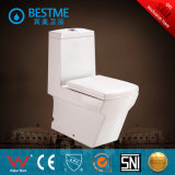 Big Size Washdown Toilet Suite with Pedestal and Bidet